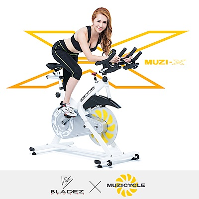 【MUZICYCLE】602-MUZI-X航太鋁合金磁控飛輪健身車-賓士藍 @ Y!購物
