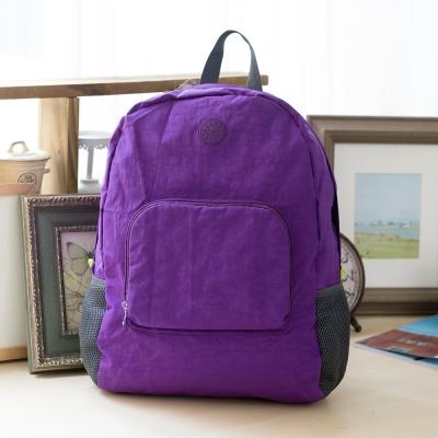 COUNT DUCK 美系悠活輕量輕巧收納後背包-CD-028-紫色