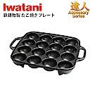 日本岩谷Iwatani 鑄鐵章魚燒烤盤 CB-P-T