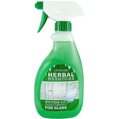 【LIVIN 'CARE】草本系列玻璃清潔劑500ml