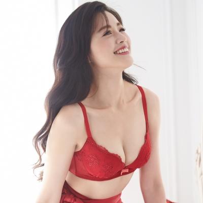 蕾黛絲-美樂蒂young真水 D罩杯內衣(喜氣紅)