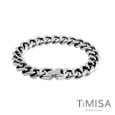 TiMISA《純鈦牛仔》純鈦手鍊