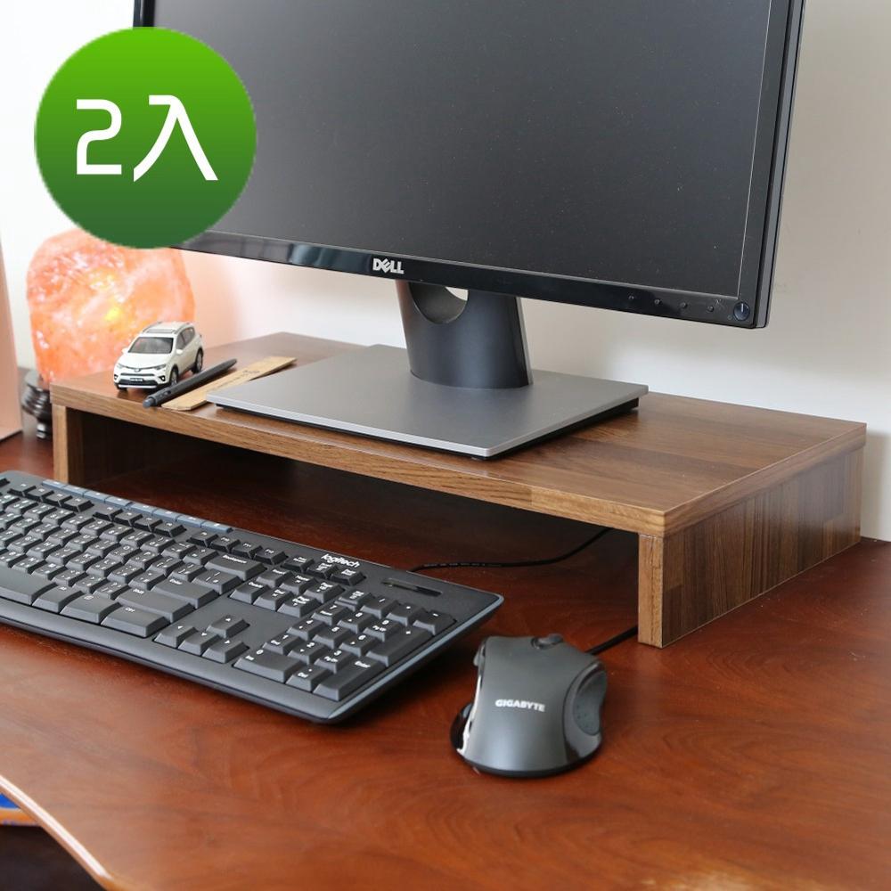 BuyJM低甲醛集成木防潑水桌上架/螢幕架2入/54x24x8公分-DIY