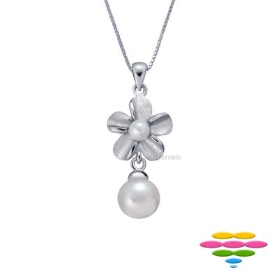 彩糖鑽工坊 4-7mm 淡水珍珠項鍊 簡愛系列