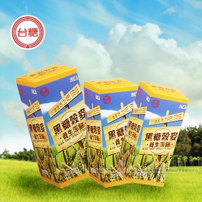 台糖 黑糖榖麥養生薄餅x12盒(120g/盒)