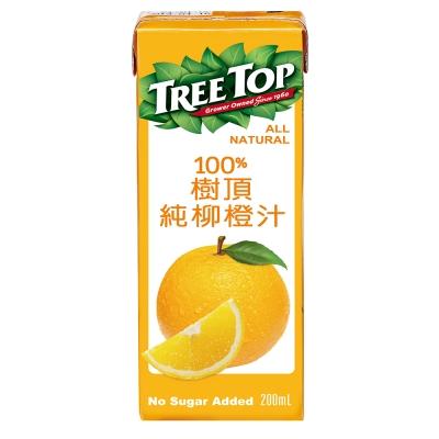 Treetop樹頂 100%柳橙汁(200mlx24入)