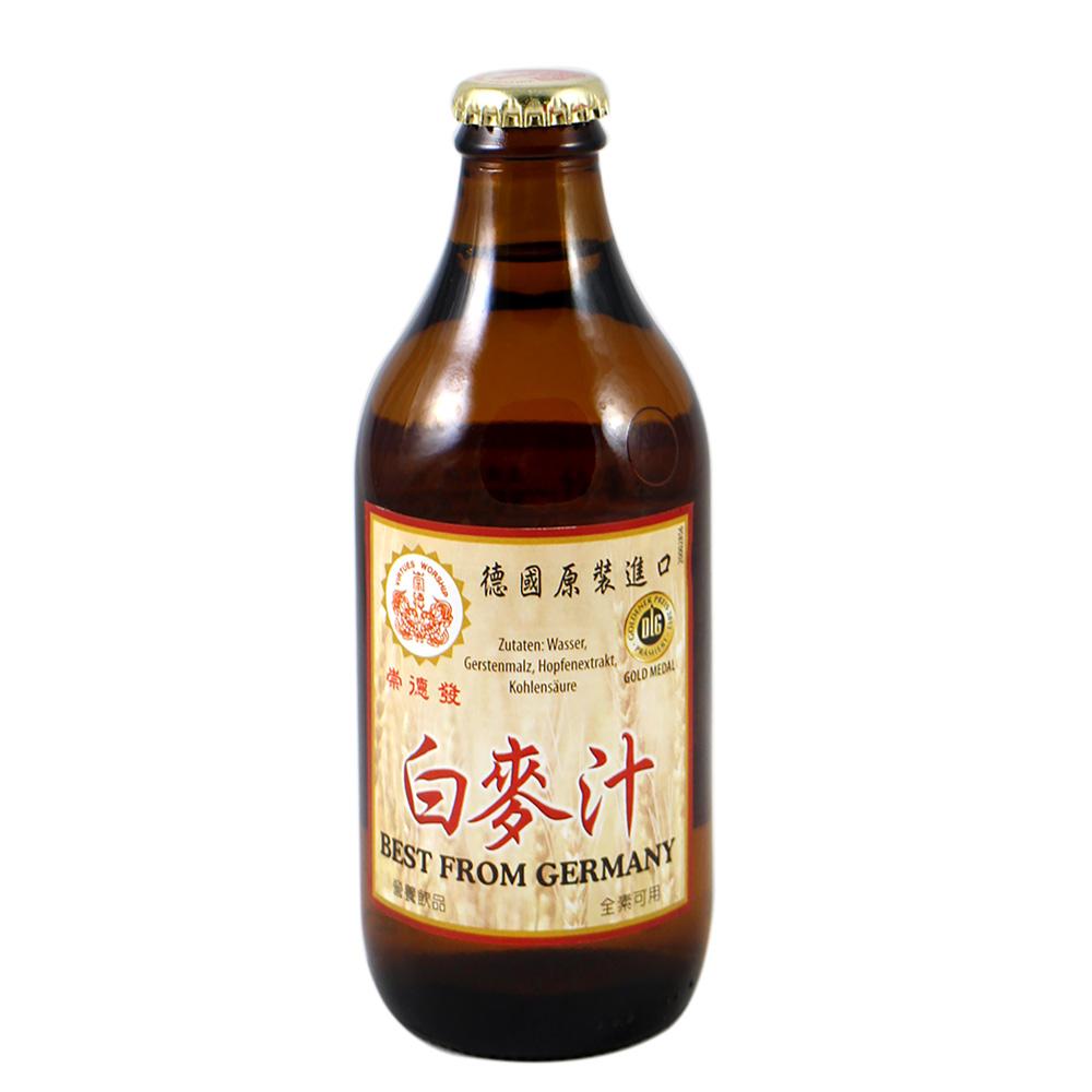 崇德發 白麥汁(330mlx24瓶)