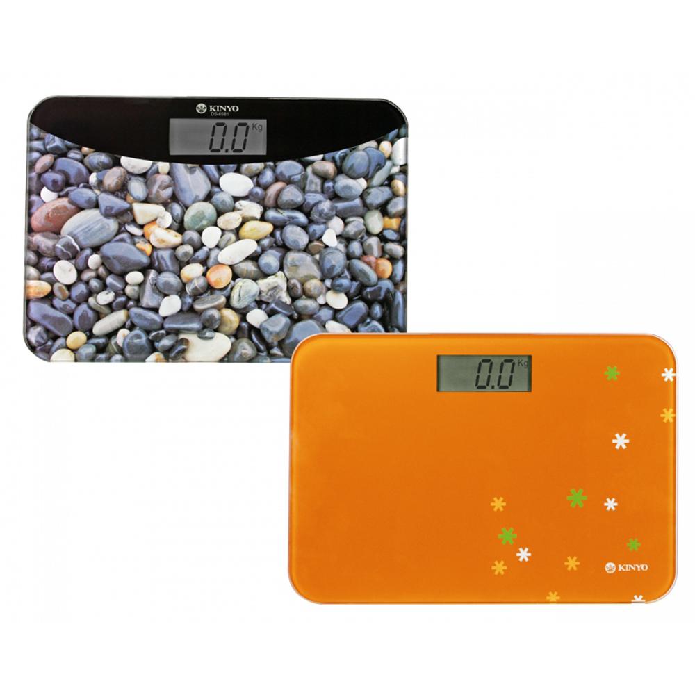KINYO安全輕巧型電子體重計(DS6581)