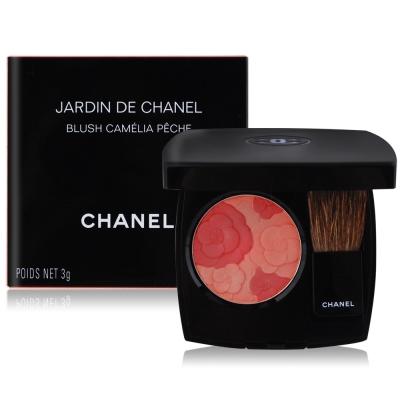 Chanel香奈兒 秘密花園柔光腮紅3g送專櫃精華液試用包(隨機)X1