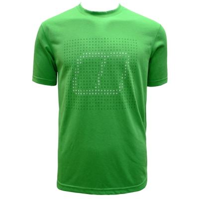 【Berghaus 貝豪斯】男款銀離子短袖T恤S04M03-綠