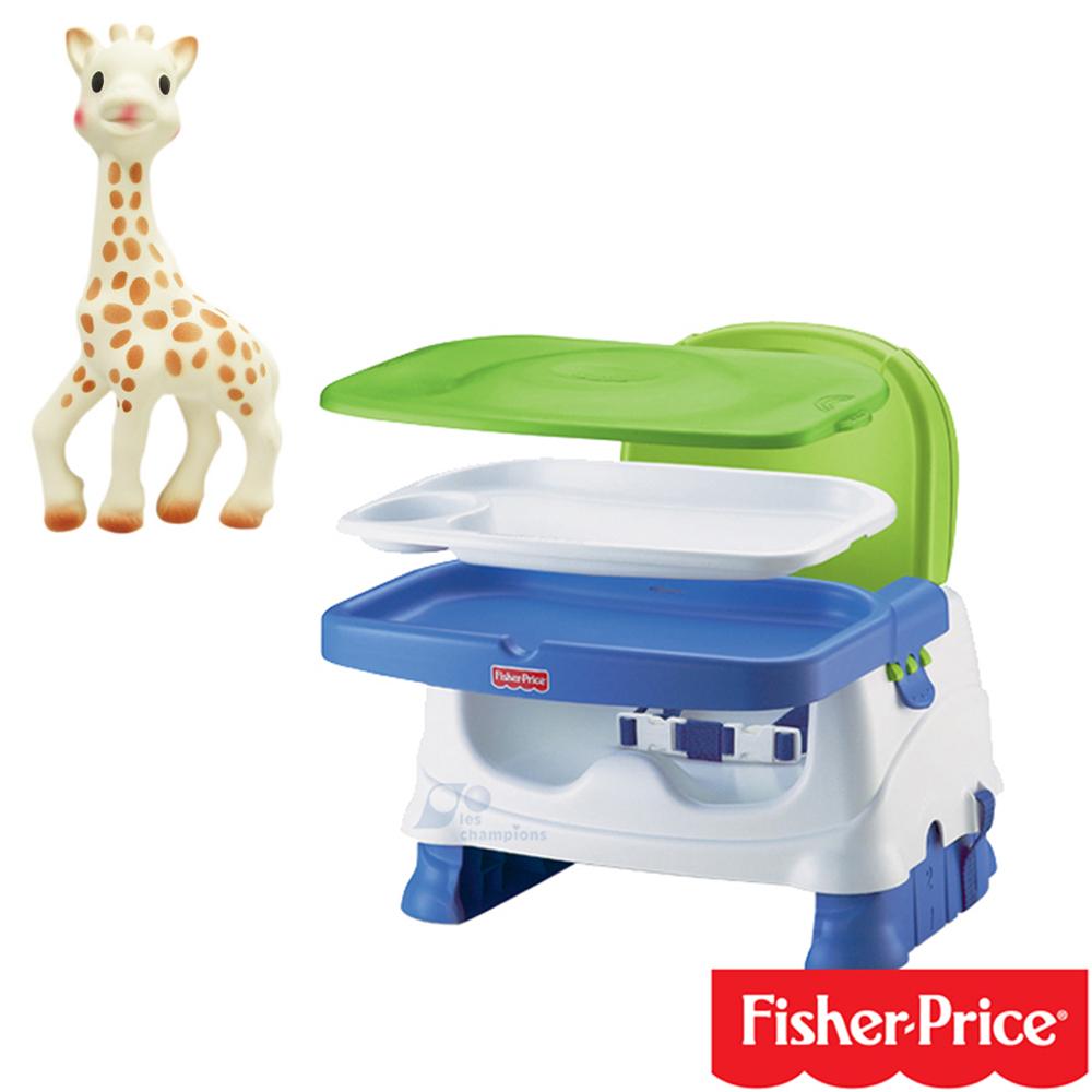 費雪牌 Fisher-Price寶寶小餐椅 Vulli 法國蘇菲長頸鹿固齒器