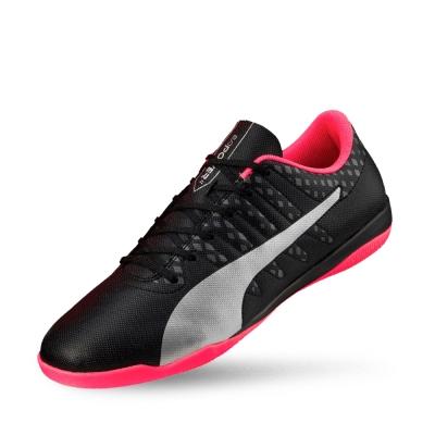 PUMA evoPOWER Vigor 4 IT男性足球運動鞋-黑