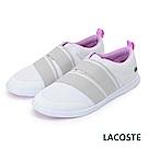 LACOSTE 女用休閒/健走鞋-白/紫