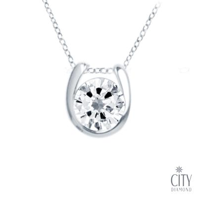 City Diamond 『單戀』 K金項鍊