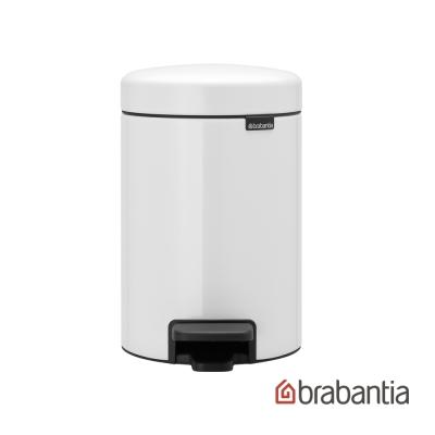 Brabantia NEWICON環保垃圾桶-3L純淨白