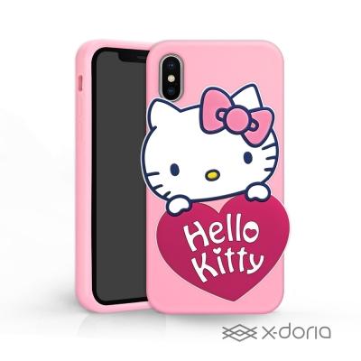 Hello Kitty iPhone X 立體矽膠 鏡子 手機殼