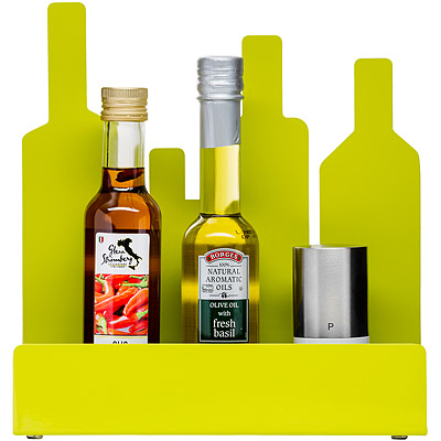 SAGAFORM 剪影瓶罐置物架(綠)