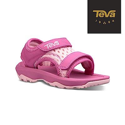 【TEVA】原廠貨 幼童 Psyclone XLT 機能運動涼鞋/雨鞋/水鞋(粉紅-TV1019538TPINK)