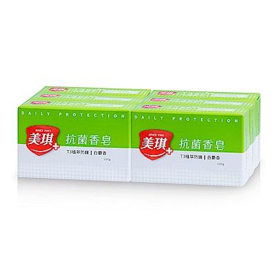 美琪 抗菌香皂 白麝香(六塊裝)
