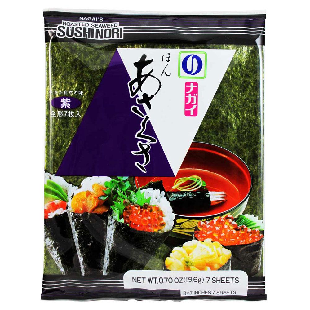NAGAI 本淺草紫海苔(19.6g)