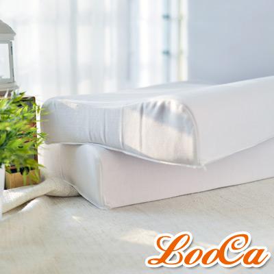 LooCa 負離子工學乳膠健康枕2入