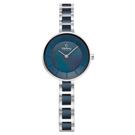 OBAKU 氣質雅致雙色時尚腕錶-V183LXCLSA/28mm