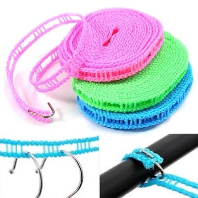 kiret 超值2入 5M曬衣繩-居家 旅行必備 曬衣鏈(顏色隨機)