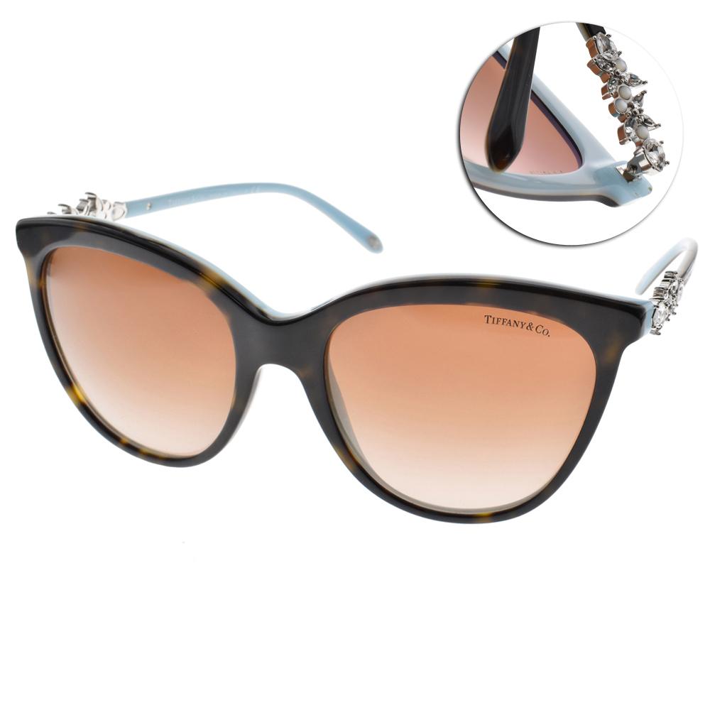 Tiffany&CO.太陽眼鏡 璀璨之光/琥珀棕#TF4131HB 81343B