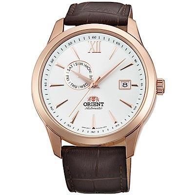 ORIENT東方錶 Classic Design系列簡約日期機械錶( FAL00004W)