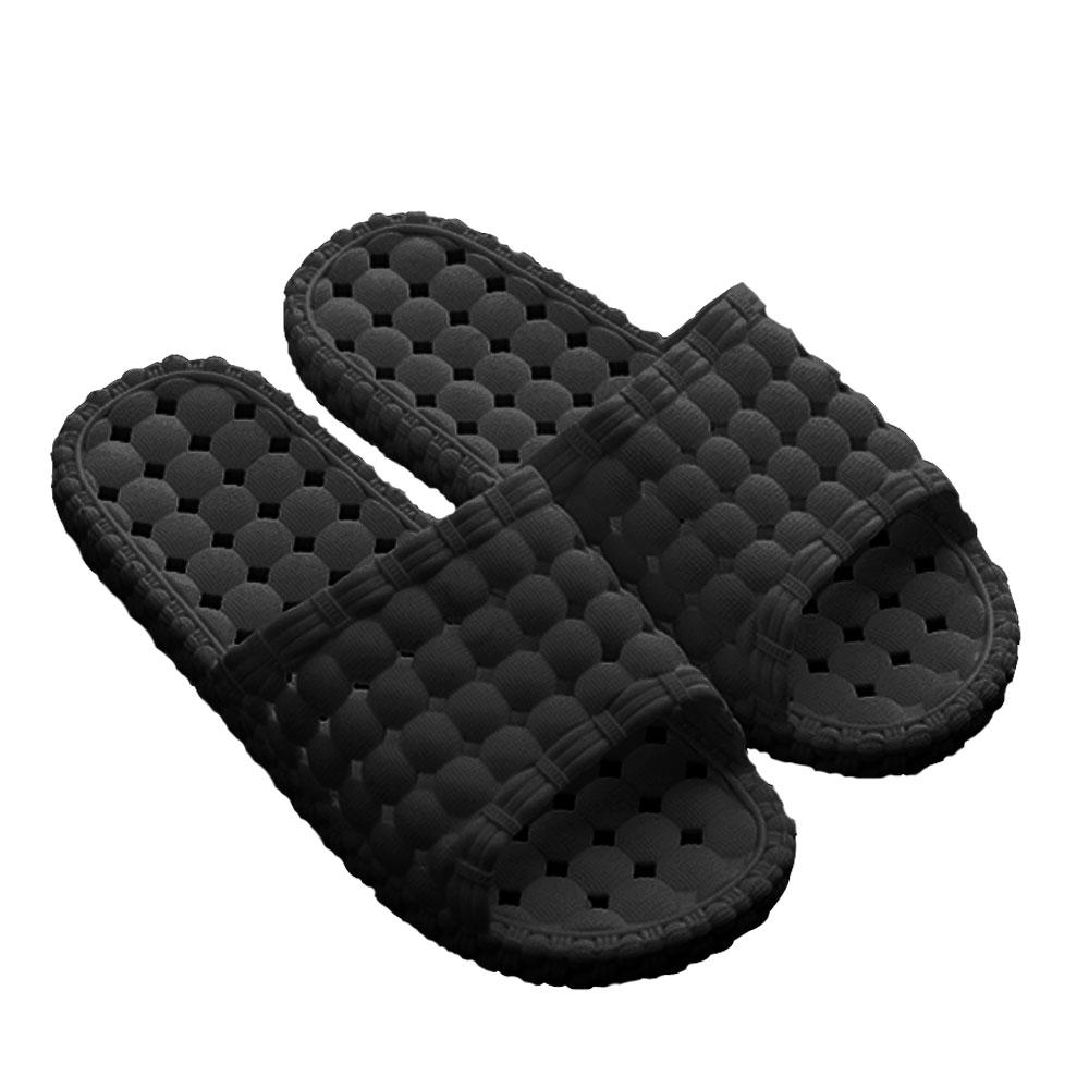 韓版超柔浴室瀝水防滑拖鞋(男款3色)-1雙入