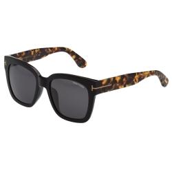 TOM FORD 中性款 太陽眼鏡-黑色-TOM413D