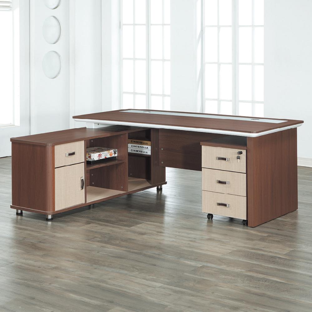 AS-亞爾曼L型辦公桌-180x160x77cm