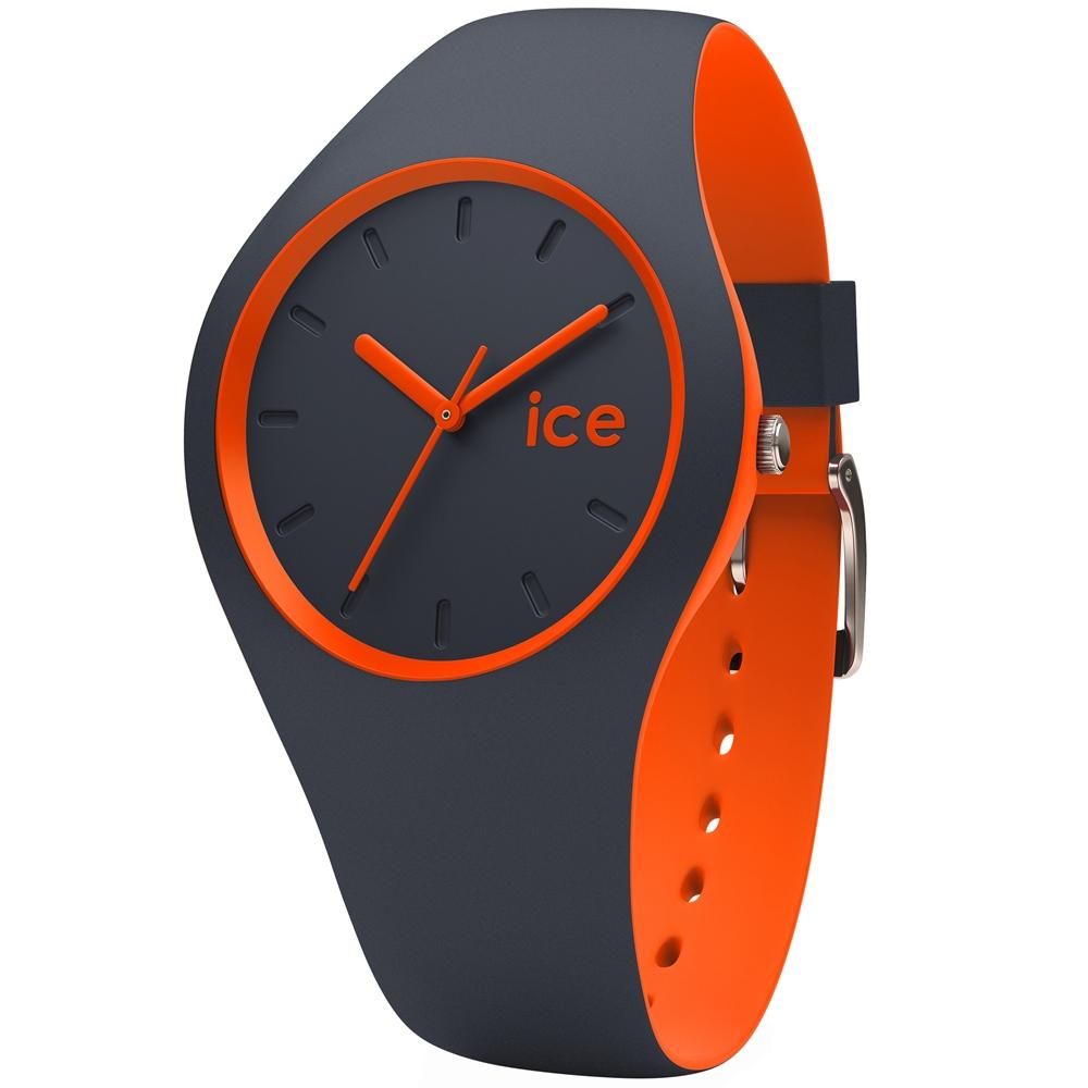 Ice-Watch 玩色系列 炫彩新時尚手錶-深灰x橘/41mm