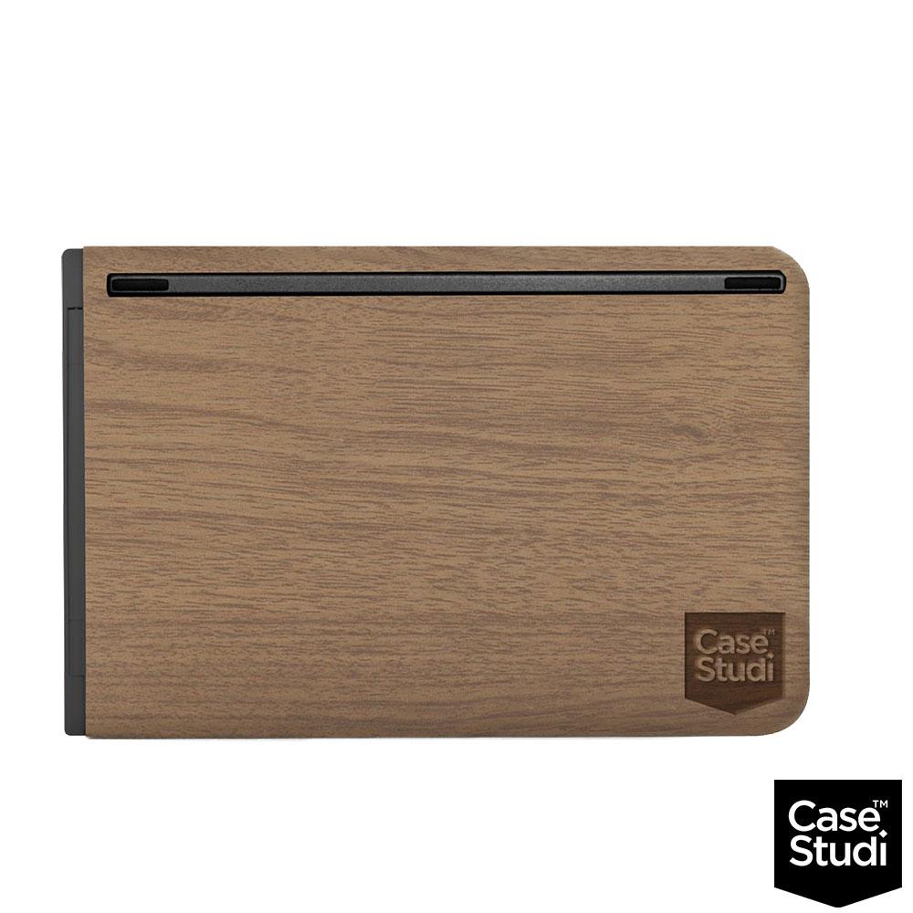 CaseStudi木紋藍芽鍵盤CSKBTFB-2MB-黑色