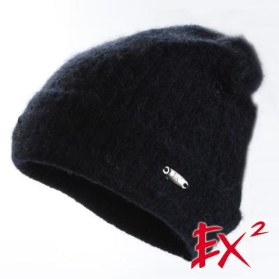 德國EX2 羊駝保暖帽(黑色)