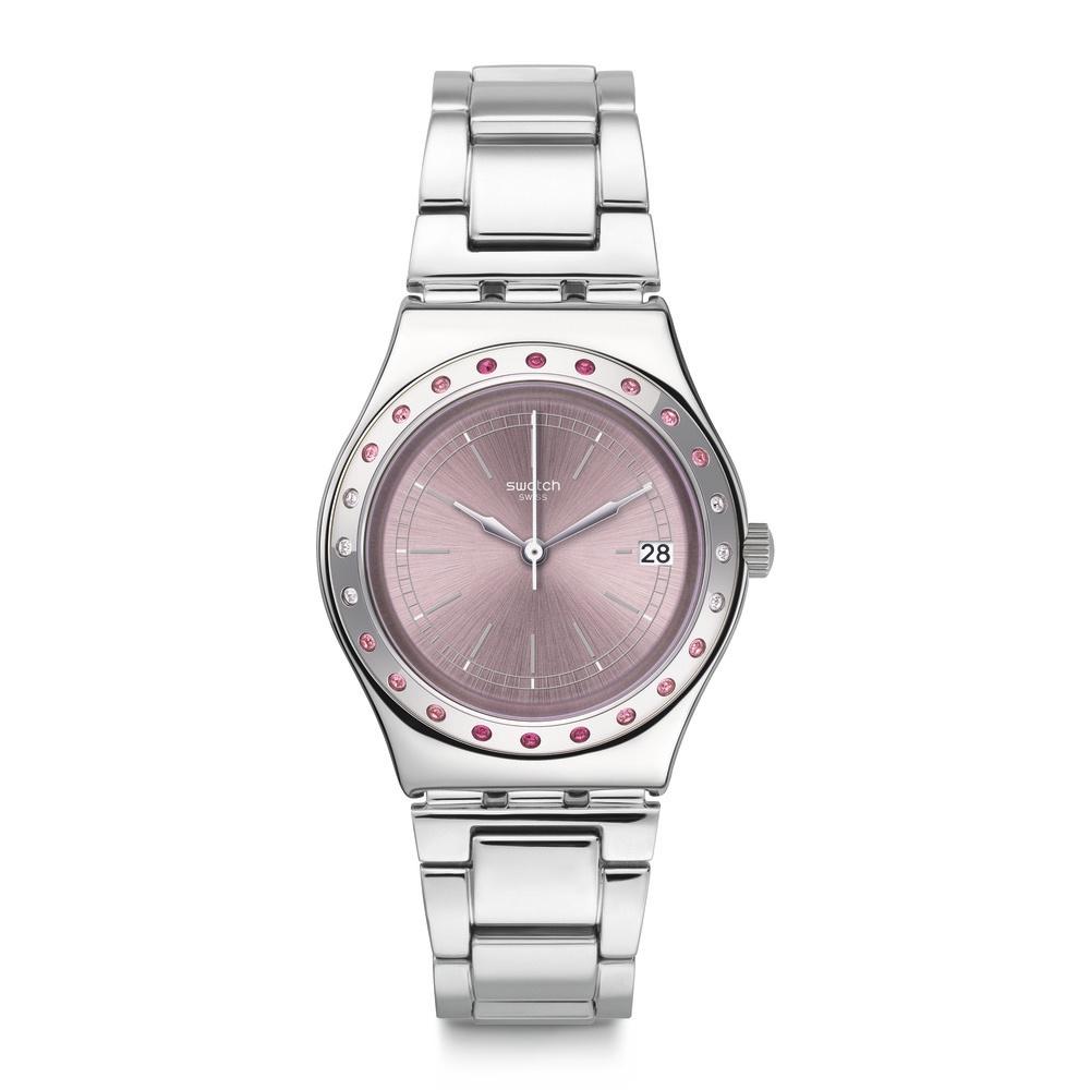 Swatch 田園風情系列 PINKAROUND 粉紅泡泡手錶