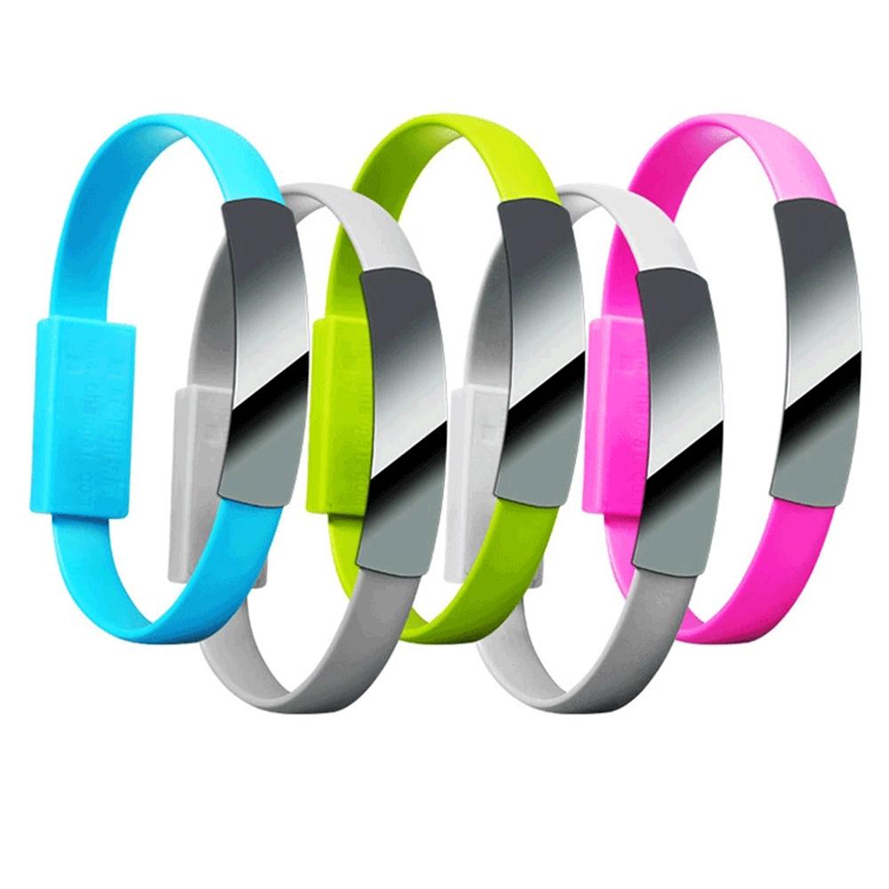 手環式Micro數據充電線/傳輸線