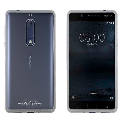 Metal-Slim Nokia 5 時尚超薄TPU透明軟殼