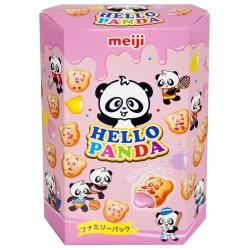 明治 HELLO PANDA貓熊草莓夾心餅乾(175g)