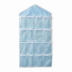 iSFun 居家收納 衣物雜貨16格掛袋 4色可選80x42cm