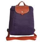 Longchamp 經典Pliage?摺疊款式造型雙肩後背包(紫)