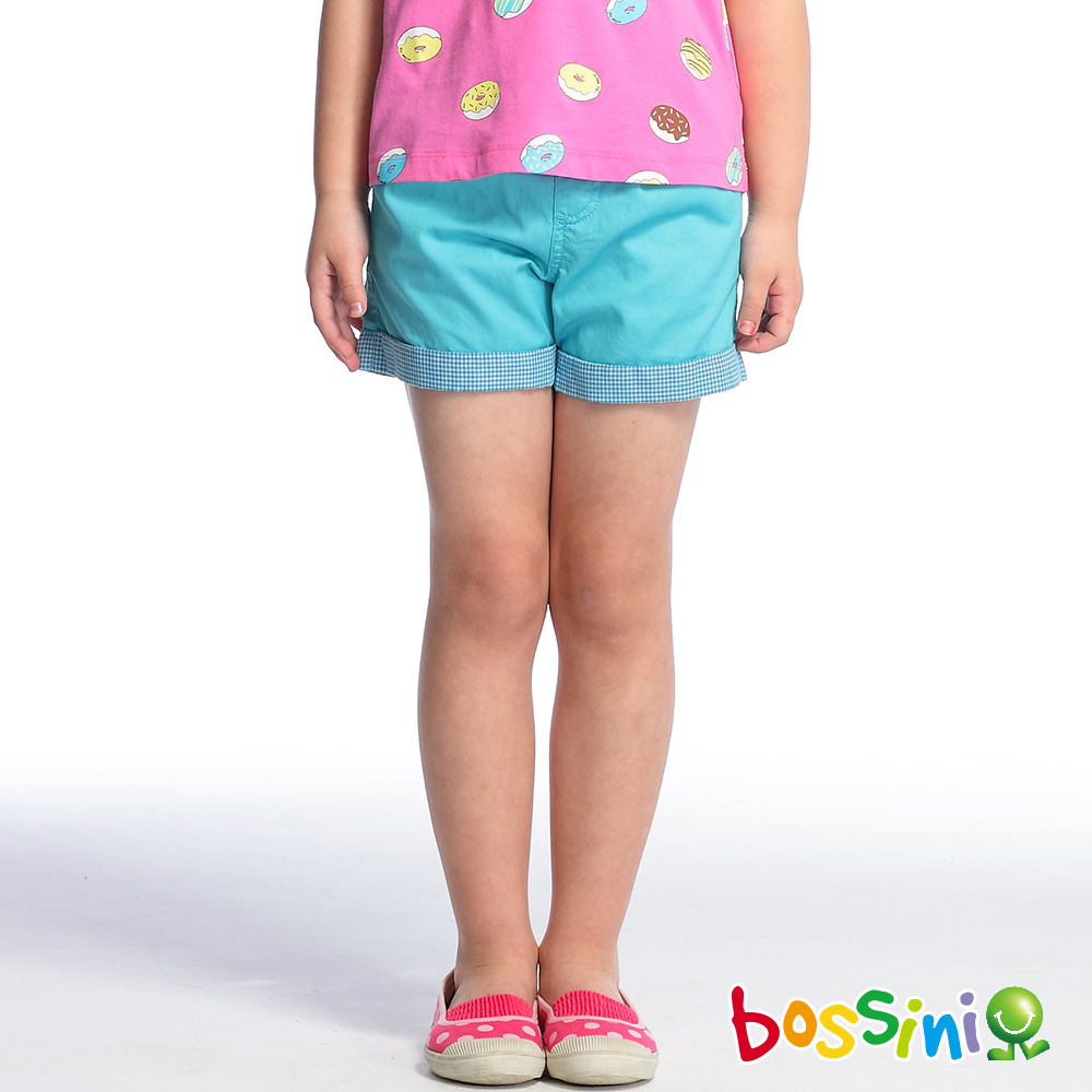 bossini女童-輕便短褲05淺綠松