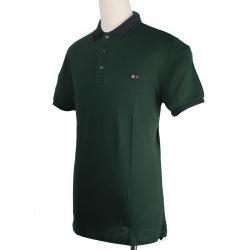 BURBERRY 紳士素面POLO衫-綠色