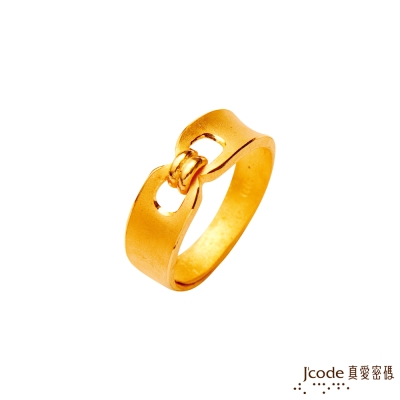 J'code真愛密碼 完美邂逅黃金男戒指