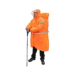 PUSH!戶外休閒用品雨衣登山雨衣背包雨衣連體雨衣P104