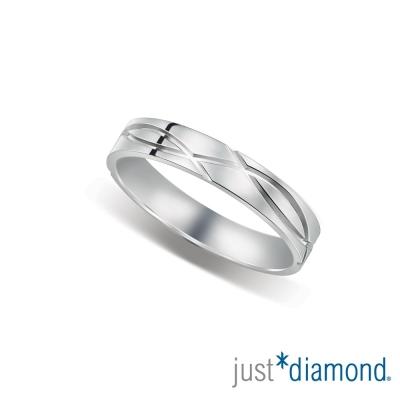 Just Diamond 深情印記男女對戒-男戒