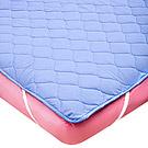 La Belle 繽紛炫彩 雙人平面式保潔墊-藍