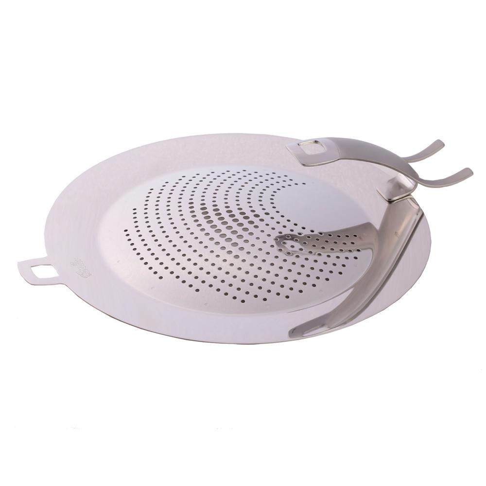 德國Fissler 不鏽鋼油擋 酥脆鍋 平煎鍋 適用