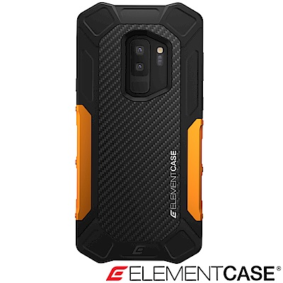 美國 Element Case Samsung Galaxy S9+ Formula-黑橘