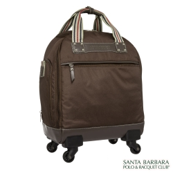 Santa Barbara Polo-加西亞拉桿15吋登機箱-咖啡PO13K15CF